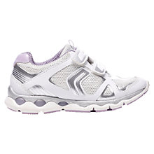 Buy Geox Magica Trainers, White Online at johnlewis.com
