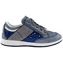 Buy Lelli Kelly California Lights Trainers Blue Glitter Online at johnlewis.com