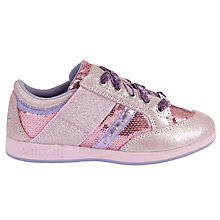 Buy Lelli Kelly California Lights Metallic Trainers, Pink Online at johnlewis.com