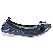 Buy Lelli Kelly Perla Ballerina Pumps, Blue Online at johnlewis.com