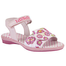 Buy Lelli Kelly Princess Sandals, Pink Online at johnlewis.com