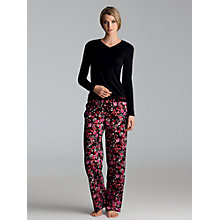 Buy Calvin Klein Roll Up Pyjama Bottoms, Twiggy Blossom Print Online at johnlewis.com