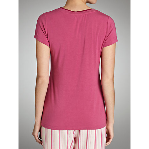 Buy Cyberjammies Vintage Jersey Pyjama Top, Pink Online at johnlewis.com