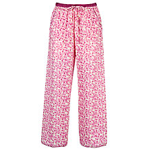 Buy Cyberjammies Vintage Floral Pyjama Bottoms, Pink Online at johnlewis.com