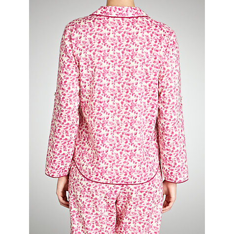 Buy Cyberjammies Vintage Floral Pyjama Top, Pink Online at johnlewis.com