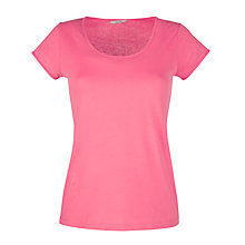 Buy John Lewis Short Sleeve Pyjama Top, Pink Online at johnlewis.com