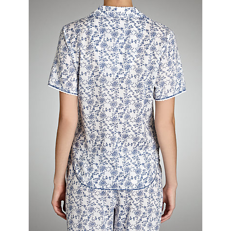 Buy Cyberjammies China Blue Pyjama Top, Blue/White Online at johnlewis.com