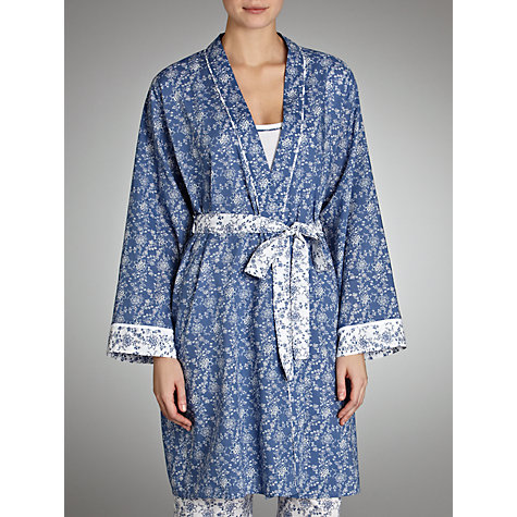 Buy Cyberjammies China Blue Wrap, Blue/White Online at johnlewis.com