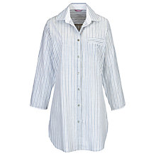 Buy Cyberjammies China Blue Stripe Nightshirt, Blue/White Online at johnlewis.com