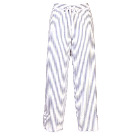 Buy Cyberjammies China Blue Stripe Pyjama Bottoms, Blue/White Online at johnlewis.com