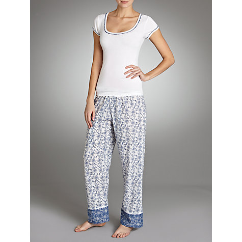 Buy Cyberjammies China Blue Vest, White Online at johnlewis.com