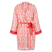 Buy Cyberjammies Strawberry Fields Wrap, Pink/White Online at johnlewis.com