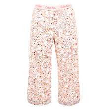 Buy Calvin Klein Jasmine Floral Pyjama Trousers, Multi Online at johnlewis.com