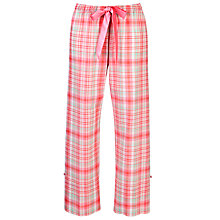 Buy Cyberjammies Strawberry Fields Checked Pyjama Bottoms Online at johnlewis.com