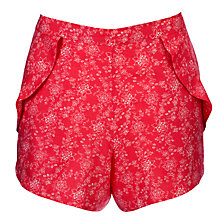 Buy Cyberjammies Strawberry Fields Floral Shorts, Pink Online at johnlewis.com