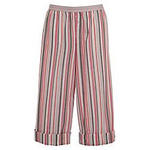Buy Calvin Klein Bootlegger Striped Pyjama Bottoms, Pink Online at johnlewis.com