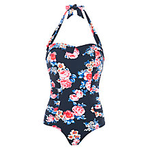 Buy Seafolly Rococo Rose Vintage Maillot Swimsuit, Multi Online at johnlewis.com