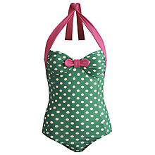 Buy Joules Sayler Boyleg Swimsuit, Apple Online at johnlewis.com