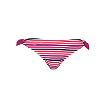 Buy John Lewis Candy Stripe Bikini Briefs, Multi Online at johnlewis.com