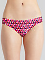 Buy John Lewis Hexagon Bikini Briefs, Multi, 12 Online at johnlewis.com