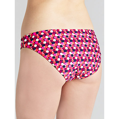 Buy John Lewis Hexagon Bikini Briefs, Multi Online at johnlewis.com