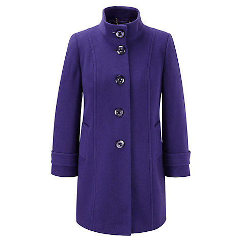 Buy CC Petite Funnel Neck Coat Online at johnlewis.com
