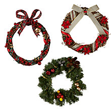 Buy Make Your Own Christmas Wreath, Traditional Online at johnlewis.com