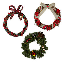 Make Your Own Christmas Wreath, Traditional