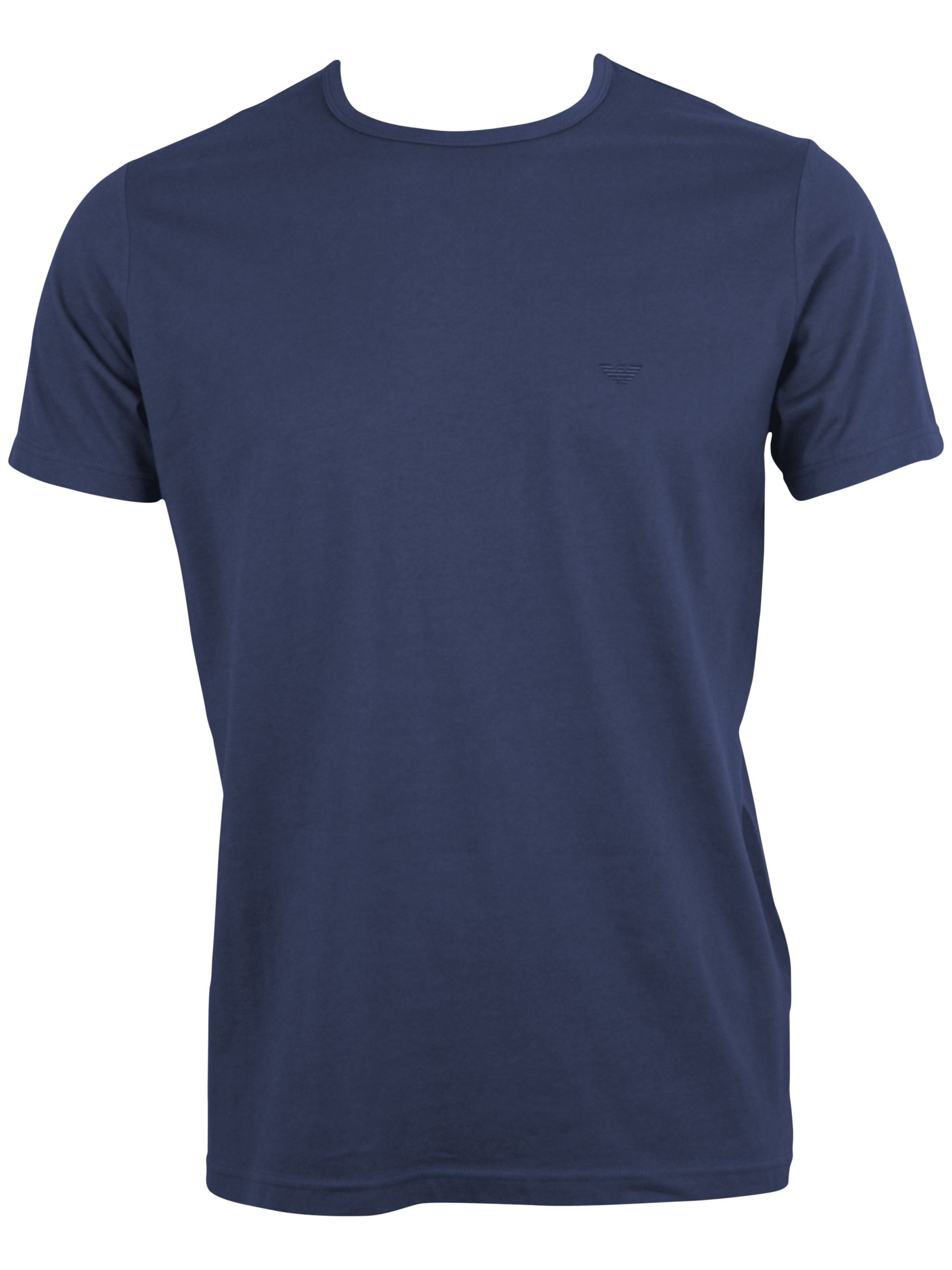 Emporio Armani Jersey Crew Neck T-Shirt, Blue