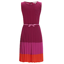 Buy Loved & Found Colour Block Pleat Dress Online at johnlewis.com
