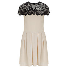 Buy Loved & Found Scalloped Edge Lace Dress, Ivory Online at johnlewis.com