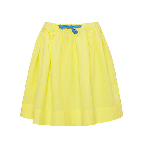 Buy Kin by John Lewis Girls' Colour Block Skirt, Yellow Online at johnlewis.com