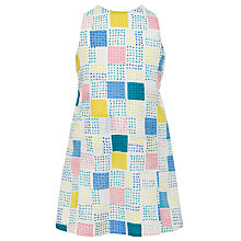 Buy Kin by John Lewis Girls' Back Detail Geometric Dress, Multi Online at johnlewis.com