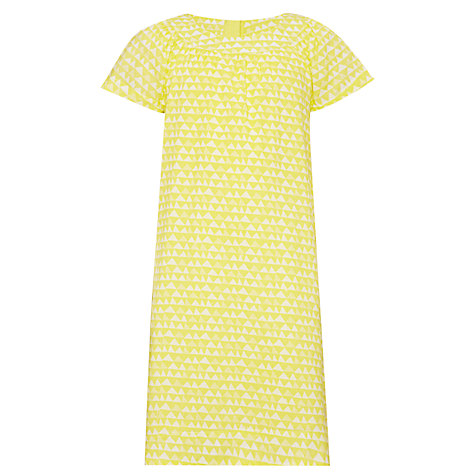 Buy Kin by John Lewis Girls' Geo Tunic Dress, Sunshine Online at johnlewis.com