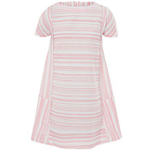 Buy Kin by John Lewis Striped Tunic Dress, Red Online at johnlewis.com