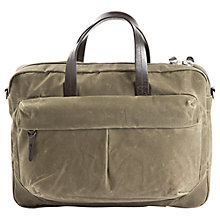 "Buy Property Of ... Tommy 15"" Laptop Work Bag, Tan Online at johnlewis.com"