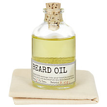 Buy Izola Botanist Beard Oil Online at johnlewis.com