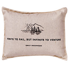 Buy Izola Quote Balsam Pillow Online at johnlewis.com
