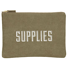 Buy Izola Supplies Zip Pouch Online at johnlewis.com