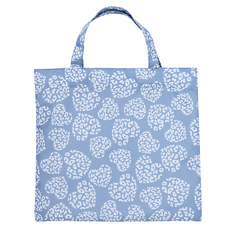 Buy Lola Rose Leopard Heart Print Classic Mac in a Bag, Blue Online at johnlewis.com
