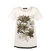 Buy Weekend by MaxMara Fama Graphic Floral T-Shirt Online at johnlewis.com
