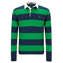 Buy Gant Bar Stripe Rugger Top Online at johnlewis.com