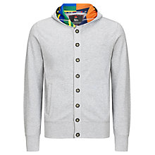 Buy Canterbury Tamatea Button Hoodie, Grey Marl Online at johnlewis.com