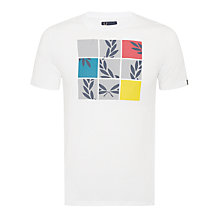 Buy Fred Perry Laurel Puzzle Print T-Shirt Online at johnlewis.com