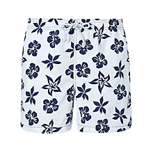 Buy Gant Floral Print Swim Shorts Online at johnlewis.com