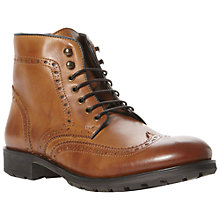 Buy Bertie Chandy Leather Brogue Boots Online at johnlewis.com