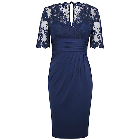 Buy Alexon Lace Top Dress Online at johnlewis.com
