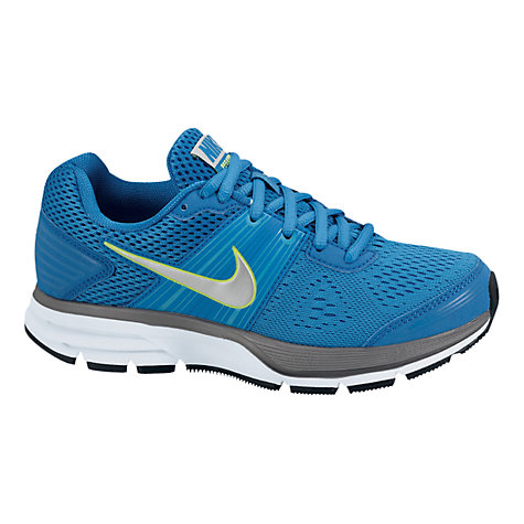 Buy Nike Air Pegasus Trainers, Blue/Silver Online at johnlewis.com