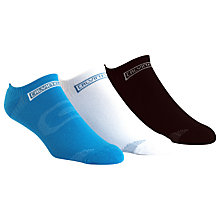 Buy Calvin Klein Combed Cotton Ankle Socks, Pack of 3 Online at johnlewis.com