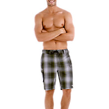 "Buy Speedo Hybrid Check 20"" Watershort Swim Shorts Online at johnlewis.com"